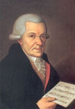 Johann Michael Haydn (1737–1806). Kuvalähde: Wikipedia